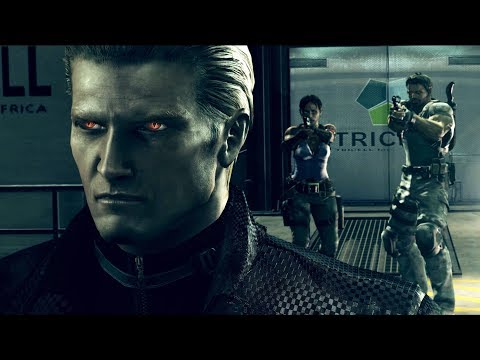 Resident Evil 5 HD - All Bosses (With Cutscenes)
