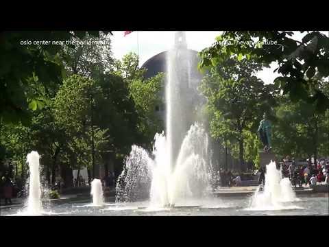 oslo center near the parliament