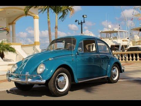 1966 Volkswagen Beetle.