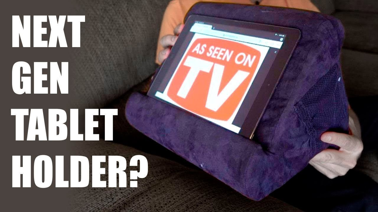 Pillow Pad Review Next Gen Tablet Holder As Seen On Tv Youtube