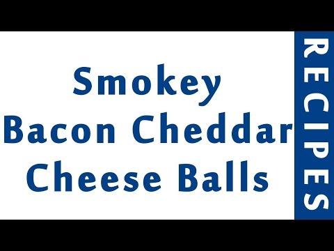 Smokey Bacon Cheddar Cheese Balls | RECIPES MADE EASY | HOW TO MAKE RECIPES
