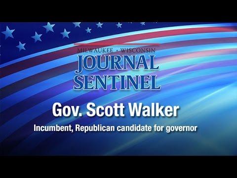 LIVE JSOnline interview with Gov. Scott Walker
