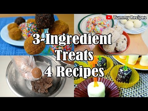 4 Easy 3-Ingredient Treats