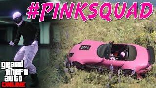 PINK SQUAD   Hunt the Rhino & Sumo   GTA Online w/ Rhymestyle & Kaggy