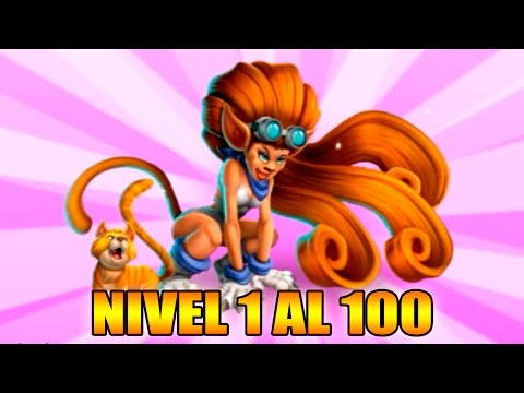 Monster Legends - Lau Lau - Nivel 1 al 100 & Combate - Review Ataques
