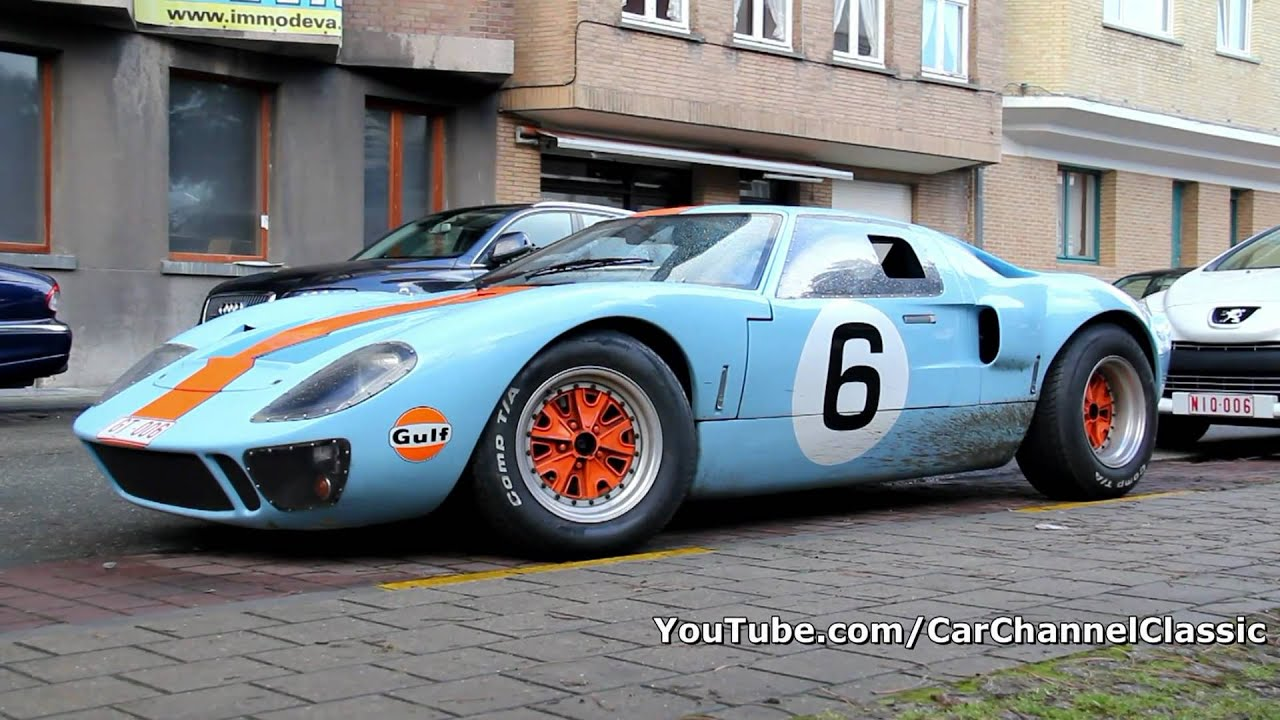 Ford GT40 Gulf edition - Detail shots - 1080p HD - YouTube