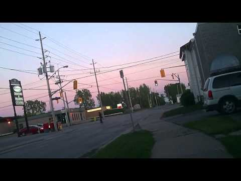 BELLEVILLE ONTAIRO CANADA bike rid on may 24 2011  part 1