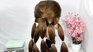 Quick hairstyles for party/wedding 2019    New Beautiful Hairstyles    Bridal Bun Hairstyle Tutorial