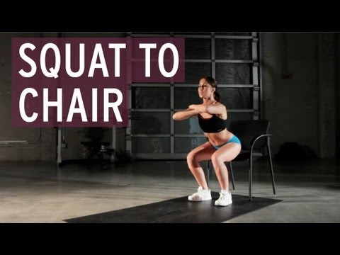 Squat to Chair - XFit Daily