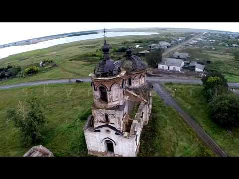 Заброшенная церковь в с. Николаевка Курганская область