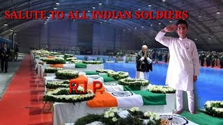 Salute to all Indian soldiers ( poem - TIRANGA 🇮🇳🇮🇳)