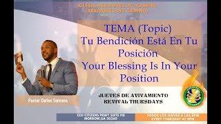 Abridores Del Camino - Tu Bendición Está En Tu Posición (Pastor Carlos Santana)