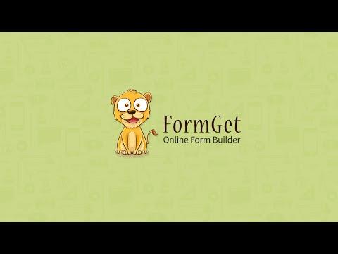 Create Form Online - FormGet