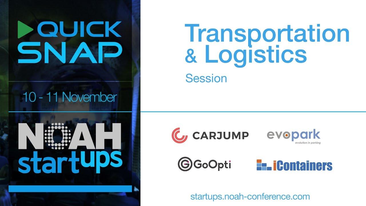 Quick Snap - Transportation & Logistics - Startup Competition NOAH16 London