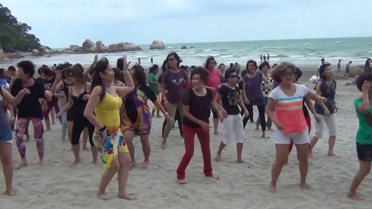 Line dance sex on the beach