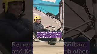 William and Kate's land yacht race