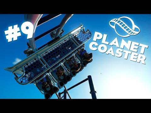 Planet Coaster | Строим очередную горку - #9