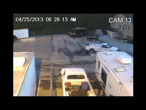 Stolen Camper Trailer