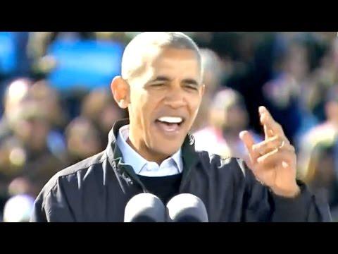 Obama SCHOOLS Trump, Republicans