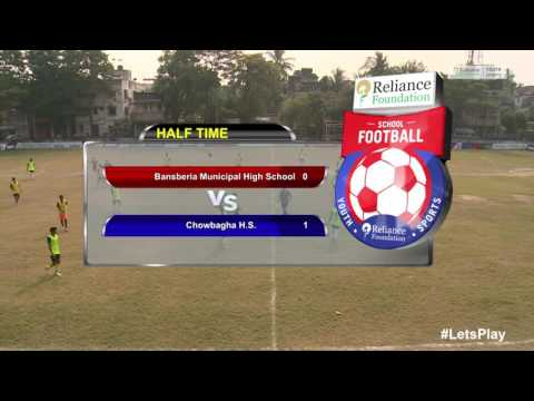 RFYS: Kolkata Jr. Boys - Bansberia Municipal High School vs Chowbagha H.S. Highlights