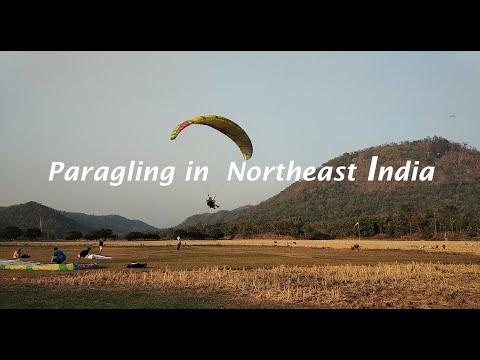 Paragliding in Assam