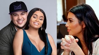 Video Proof that Kim Kardashian PREDICTED Rob & Chyna Breakup Drama on KUWTK!
