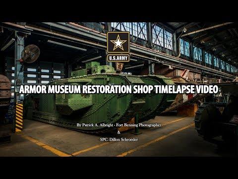ARMOR MUSEUM TIMELAPSE VIDEO