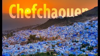 Chefchaouen The Blue City - Morocco By DRONE