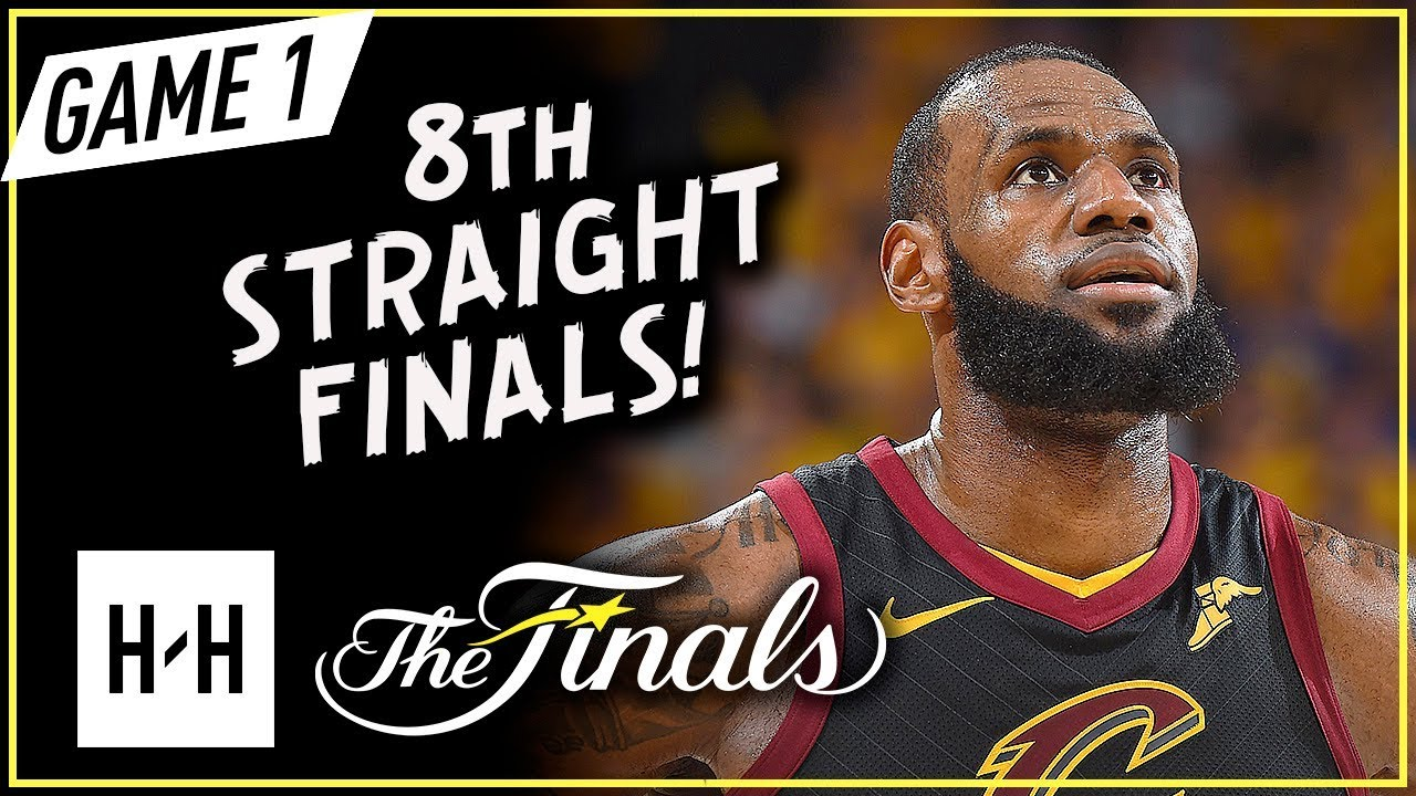 aa5a045a9c7 LeBron James Full Game 1 Highlights vs Warriors 2018 NBA Finals - 51 ...