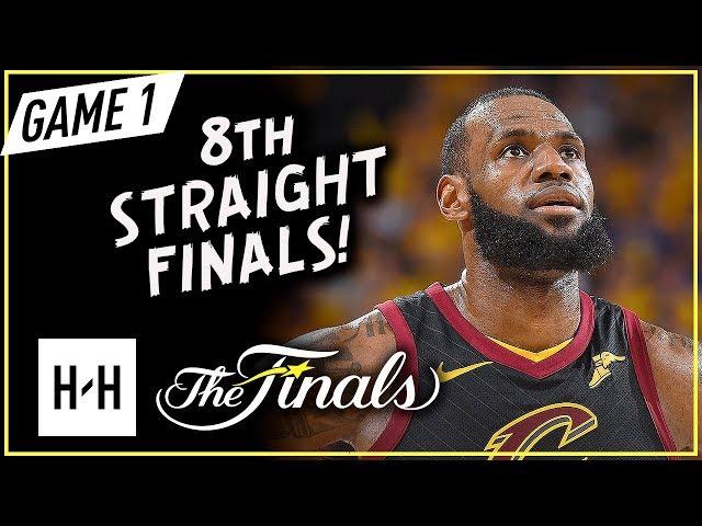 LeBron James Full Game 1 Highlights vs Warriors 2018 NBA Finals - 51 Pts, 8 Ast, 8 Reb