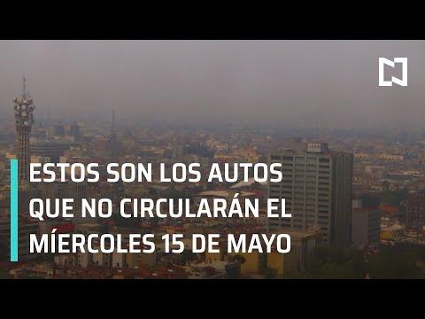 Contingencia ambiental en Valle de México; programa hoy no circula - A las Tres