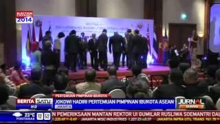 Jokowi Bertemu Para Pimpinan Ibukota Negara-Negara  ASEAN