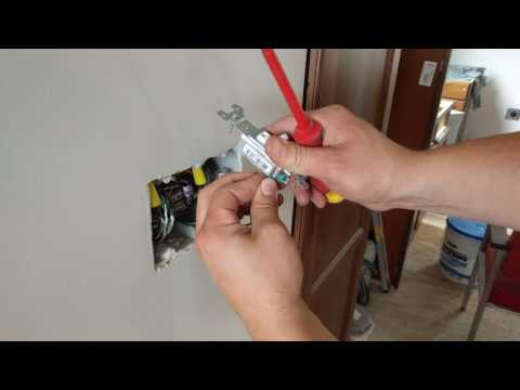 hook up light switch to outlet