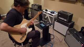 Pat Bergeson playing the V3 H2O and TrueTone