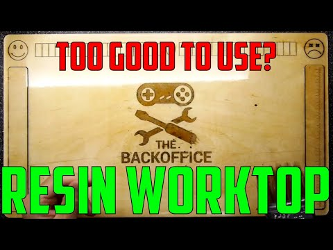 TDL- How to make a Resin Worktop!