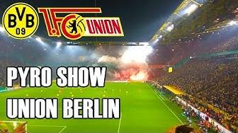 Borussia Dortmund BVB v Union Berlin DFB Pokal - Pyro Show 26.10.16