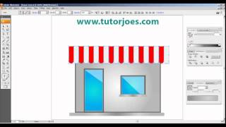How To Create House Icon In Adobe Illustrator CS3 Part 2
