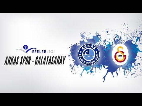 2018 - 2019 Efeler Ligi Play-Off Yarı Final 2.Maç Arkas Spor - Galatasaray