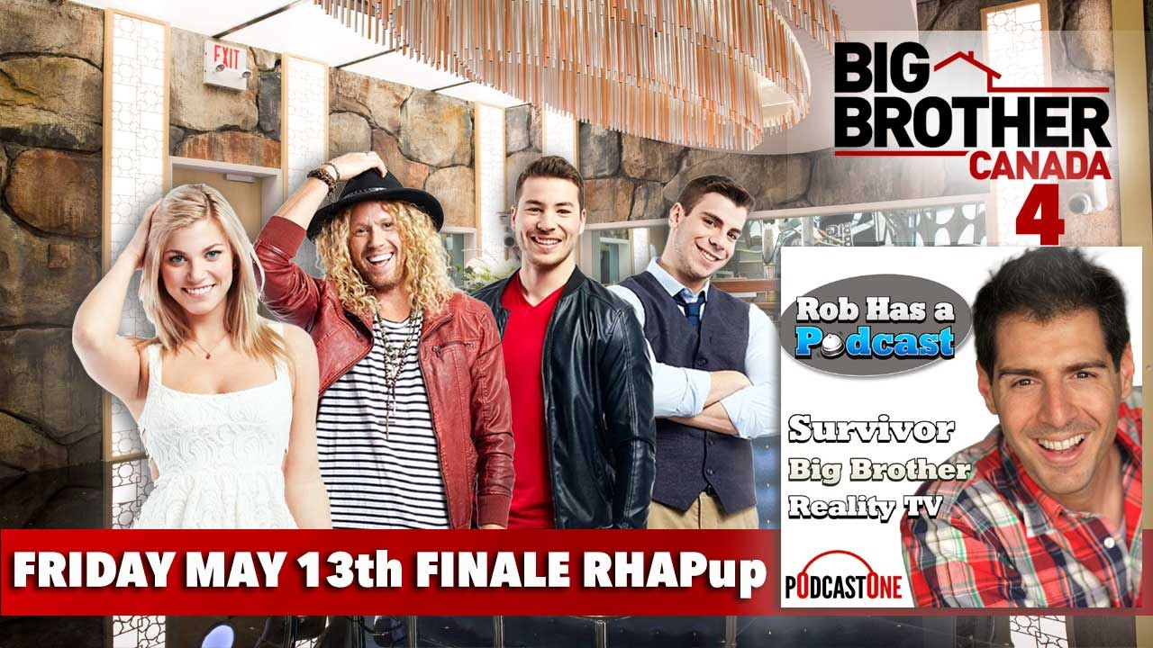 Big Brother Canada 4 Finale Recap | Friday May 13 - YouTube
