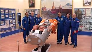 Expedition 53-54 Crew Prepares for Launch in Kazakhstan
