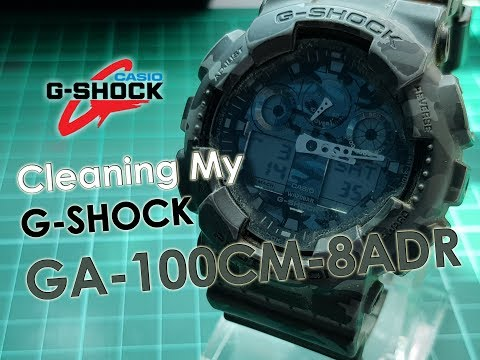 Cleaning My G-Shock GA-100CM-8ADR