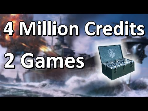 How I Earned 4 Million Credits In 2 Games