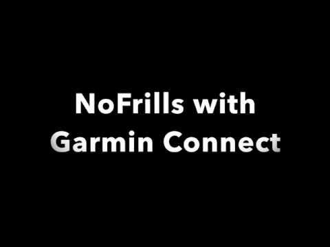 NoFrills - Install And Configure With Garmin Connect Or Garmin Express