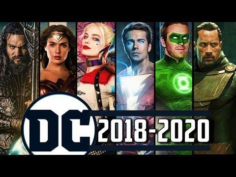 Upcoming Dc Comics Movies 2018 2020 Youtube