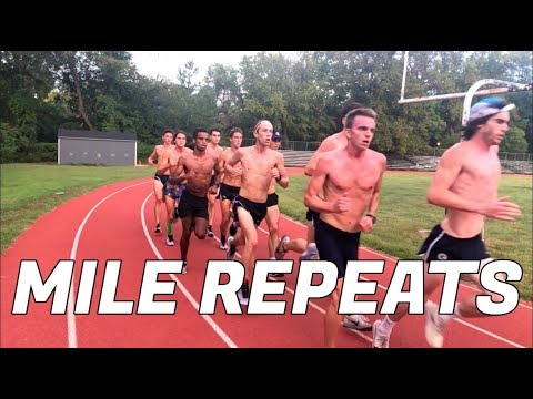 WE EAT MILE REPEATS FOR BREAKFAST *humid workout*