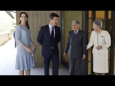 Crown Princess Mary and Crown Prince Frederik visit Japan