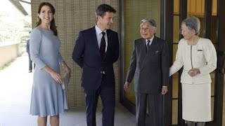 Crown Princess Mary and Crown Prince Frederik visit Japan