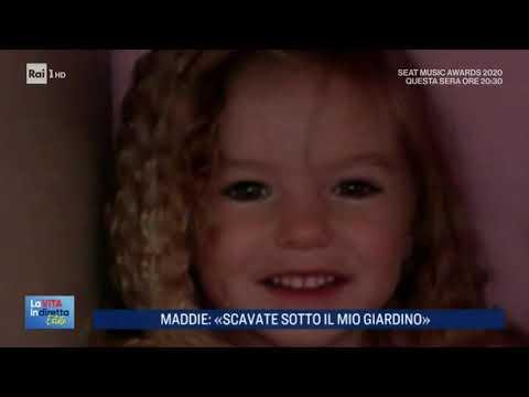 Caso Maddie McCann: scavate sotto il mio giardino - La Vita in Diretta Estate 02/09/2020