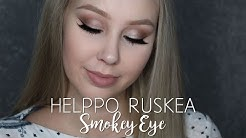 Helppo ruskea smokey eye | KauneusTube
