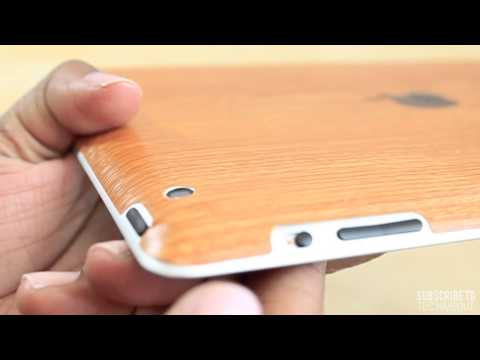 iCarbons Light Wood iPad 2 and iPad 3 Skin
